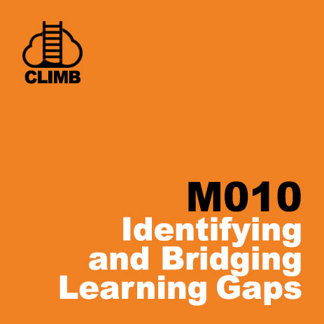 60 min Hospitality Climb class- Identifying and Bridging Learning Gaps