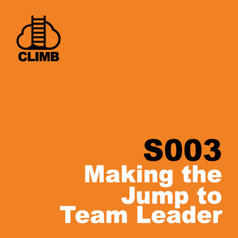 60 min Hospitality Climb class- Making the Jump to Team Leader