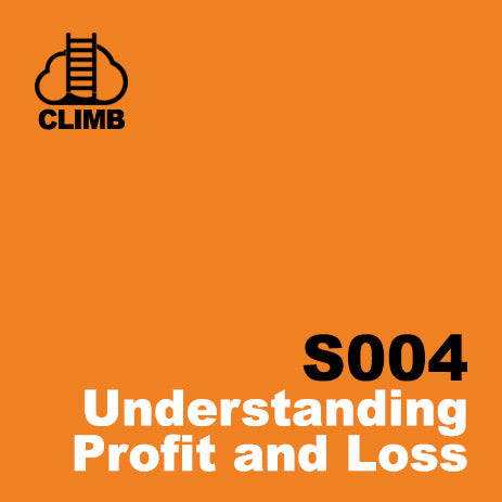 60 min Hospitality Climb class- Understanding Profit and Loss