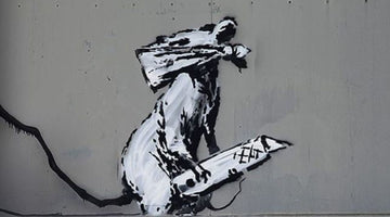 Banksy artwork of rat with a knife stolen in Paris