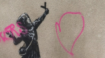 Banksy's New Valentine's Day Artwork