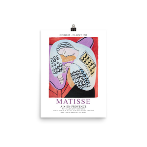 "Henri Matisse The Dream - Aix-En-Provence Exhibition Poster - Matte / 11"" (W) x 17"" (H) by Art-O-Rama"