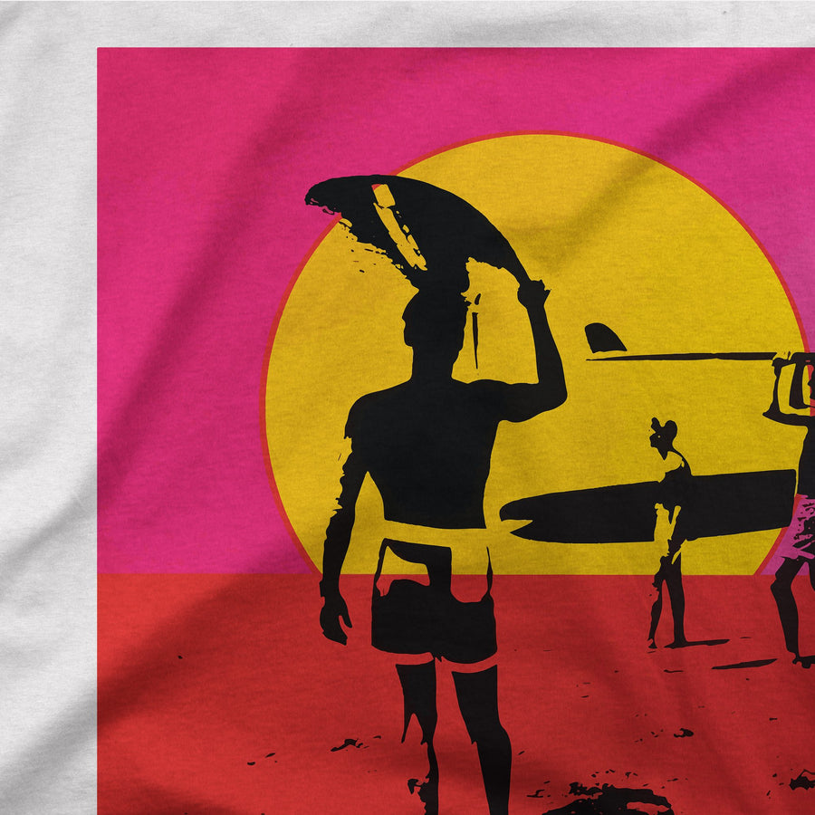 The Endless Summer 1966 Surf Documentary Poster Artwork T-Shirt - [variant_title] by Art-O-Rama