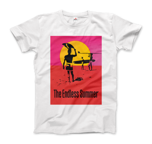 The Endless Summer 1966 Surf Documentary Poster Artwork T-Shirt - Men / White / Small by Art-O-Rama
