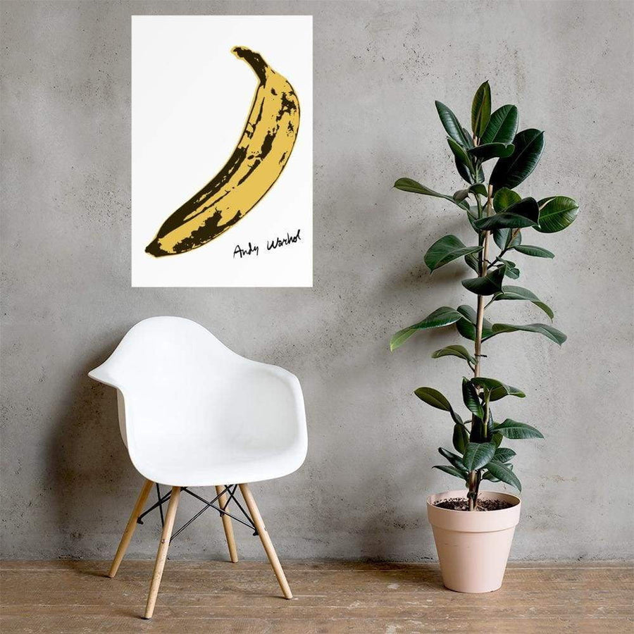 Andy Warhol's Banana 1967 Pop Art Poster - Poster