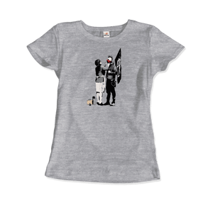 Banksy Anarchist Punk And His Mother Artwork T-Shirt - Art-O-Rama