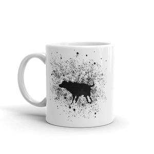 Banksy Wet Dog Splatter 2007 Street Art Mug - 11oz (325mL) - Mug