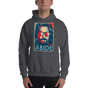 Big Lebowski Abide, Hope Style Artwork Unisex Hoodie - [variant_title] by Art-O-Rama