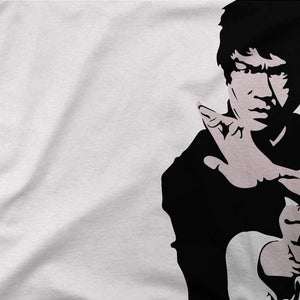 Bruce Lee Doing his Famous Kung Fu Pose T-Shirt - [variant_title] by Art-O-Rama