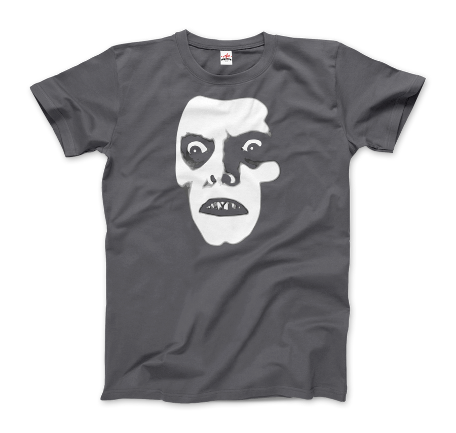 Captain Howdy Pazuzu Demon from The Exorcist T-Shirt - Men / Charcoal / Small - T-Shirt