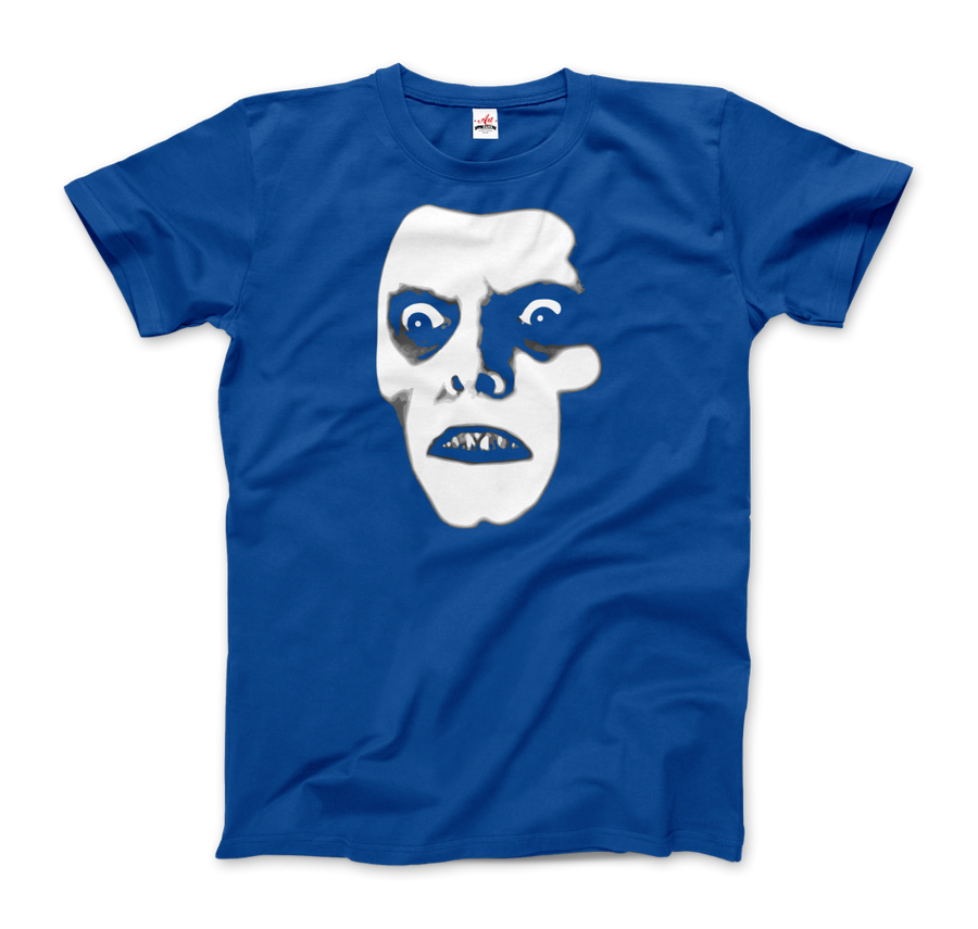 Captain Howdy Pazuzu Demon from The Exorcist T-Shirt - Men / Royal Blue / Small - T-Shirt