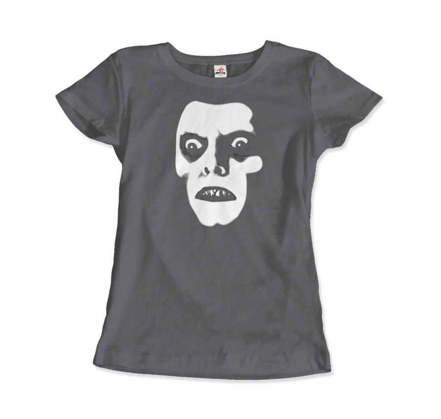 Captain Howdy Pazuzu Demon from The Exorcist T-Shirt - Women / Charcoal / Small - T-Shirt
