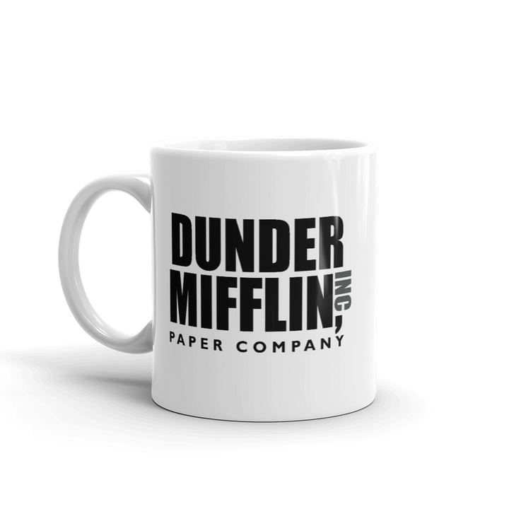 Dunder Mifflin Paper Company, Inc from The Office Mug - 11oz (325mL) by Art-O-Rama