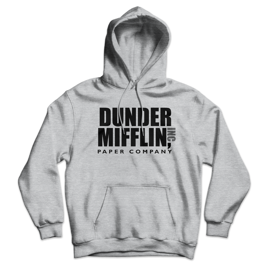 Dunder Mifflin Paper Company Inc from The Office Unisex Hoodie - Sport Grey / S by Art-O-Rama