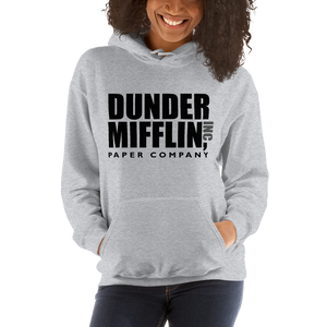 Dunder Mifflin Paper Company Inc from The Office Unisex Hoodie - [variant_title] by Art-O-Rama