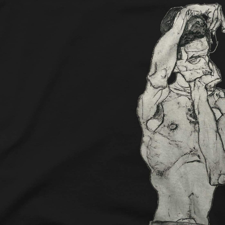 Egon Schiele Zeichnungen II (Drawings 2) 1914 T-Shirt - [variant_title] by Art-O-Rama