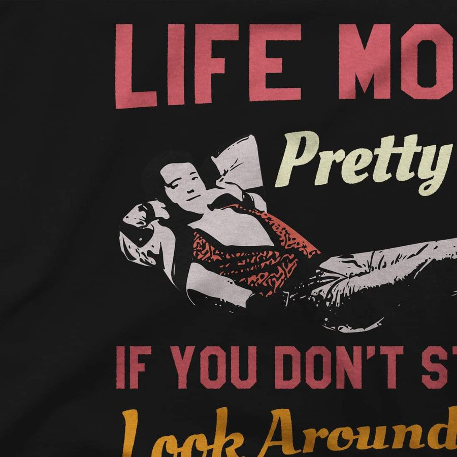 Ferris Bueller's Day Off Life Moves Pretty Fast T-Shirt - [variant_title] by Art-O-Rama
