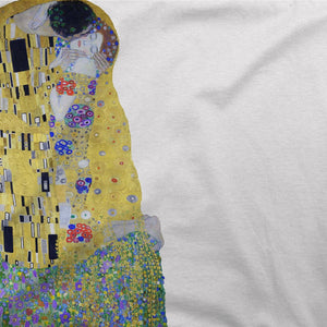 Gustav Klimt The Kiss (or The Lovers), 1908 Artwork T-Shirt - [variant_title] by Art-O-Rama