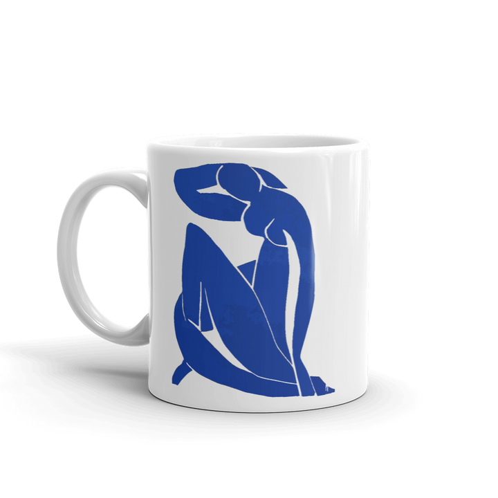 Henri Matisse Blue Nude 1952 Artwork Mug - 11oz (325mL) by Art-O-Rama