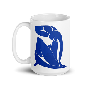 Henri Matisse Blue Nude 1952 Artwork Mug - 15oz (444mL) by Art-O-Rama