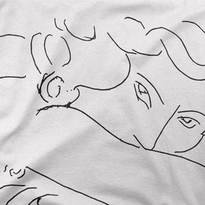 Henri Matisse Young Woman With Face Buried in Arms Artwork T-Shirt - [variant_title] by Art-O-Rama