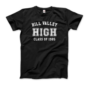 Hill Valley High School Class of 1985 - Back to the Future T-Shirt - Men / Black / Small - T-Shirt
