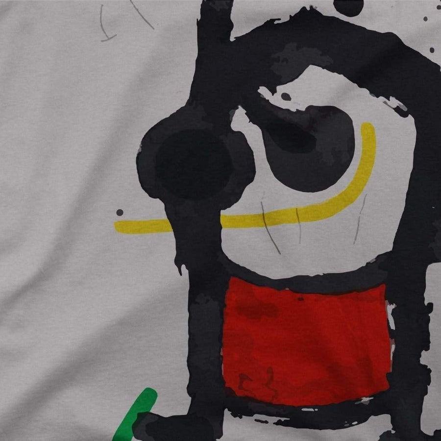 Joan Miro Bethsabee 1972 Artwork T-Shirt - [variant_title] by Art-O-Rama