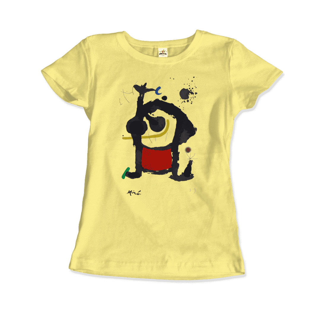 Joan-Miro-Bethsabee-1972-Artwork-T-Shirt thumbnail 20