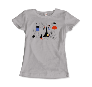 Joan Miro El Sol (The Sun) 1949 Artwork T-Shirt - Art-O-Rama