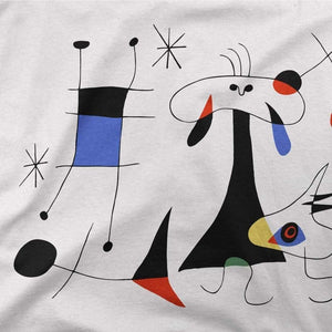 Joan Miro El Sol (The Sun) 1949 Artwork T-Shirt - [variant_title] by Art-O-Rama