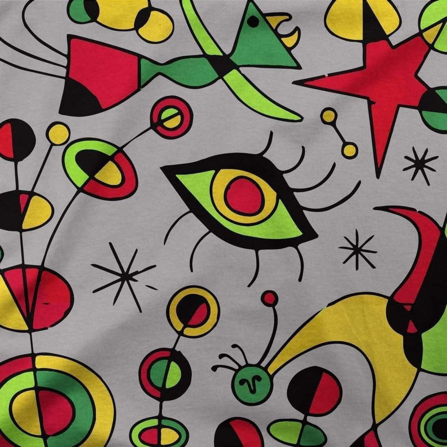 Joan Miro Peces de Colores Artwork T-Shirt - [variant_title] by Art-O-Rama