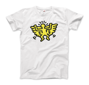 Keith Haring Angel Icon, 1990 Street Art T-Shirt - Art-O-Rama