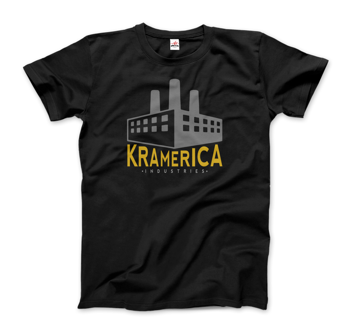 Kramerica Industries, Cosmo Kramer Seinfeld T-Shirt - Men / Black / Small by Art-O-Rama