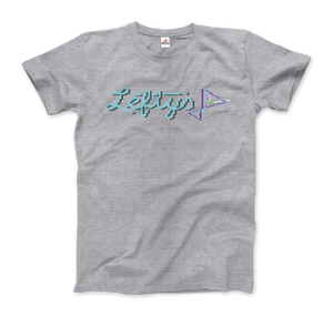 Leisure Suit Larry 1987, Lefty's Bar Logo T-Shirt - Men / Heather Grey / Small by Art-O-Rama