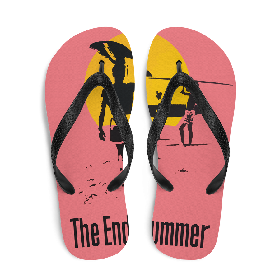 The Endless Summer 1966 Surf Documentary Artwork Flip-Flops - [variant_title] by Art-O-Rama