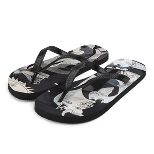Pablo Picasso Guernica 1937 Artwork Flip-Flops - Small by Art-O-Rama