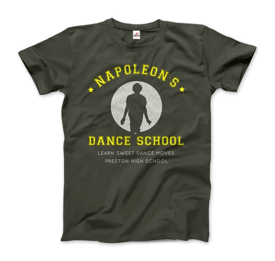 Napoleon Dance School from Napoleon Dinamyte Movie T-Shirt - Men / City Green / Small - T-Shirt