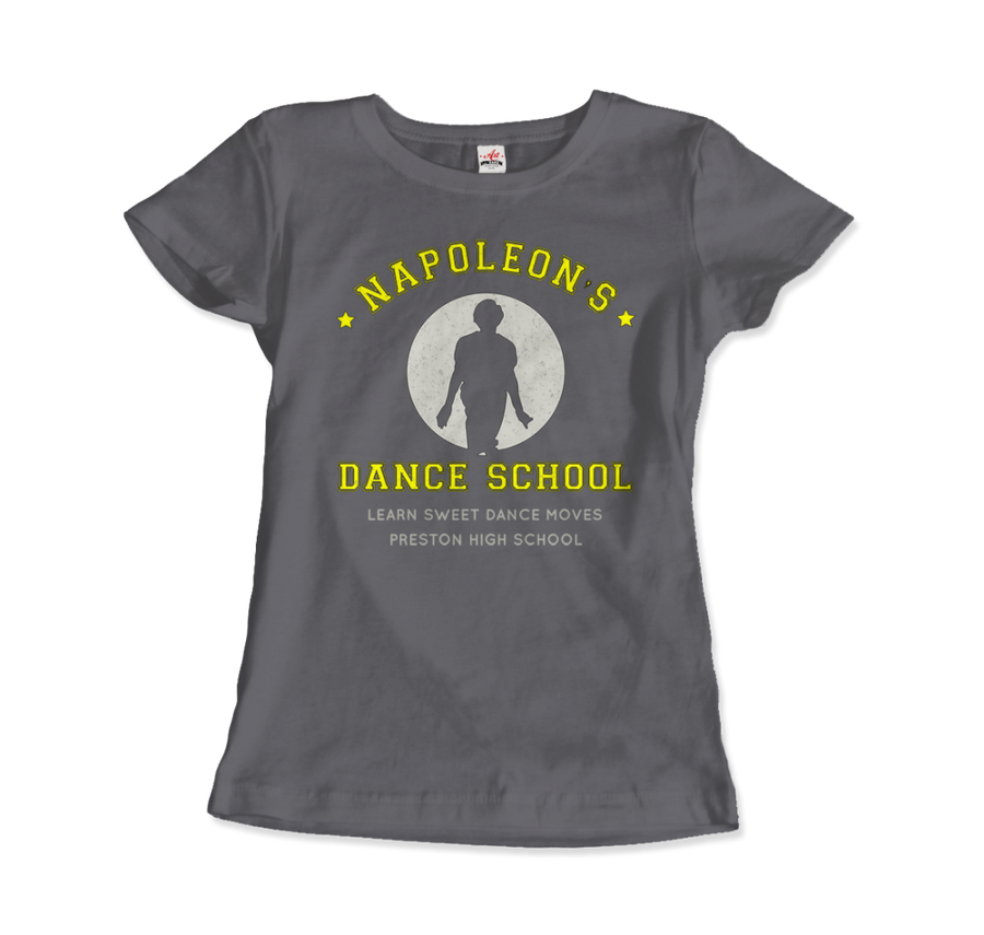 Napoleon Dance School from Napoleon Dinamyte Movie T-Shirt - Women / Charcoal / Small - T-Shirt