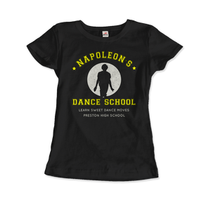 Napoleon Dance School from Napoleon Dinamyte Movie T-Shirt - Women / Black / Small - T-Shirt