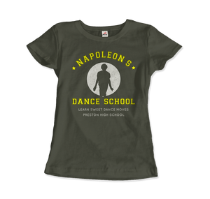Napoleon Dance School from Napoleon Dinamyte Movie T-Shirt - Women / City Green / Small - T-Shirt