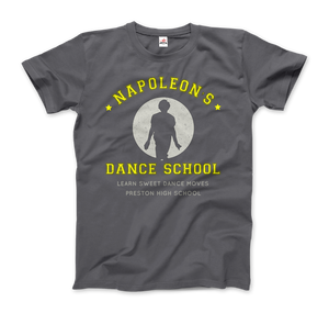 Napoleon Dance School from Napoleon Dinamyte Movie T-Shirt - Men / Charcoal / Small - T-Shirt