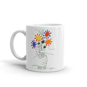 Pablo Picasso Bouquet of Peace 1958 Artwork Mug - 11oz (325mL) - Mug