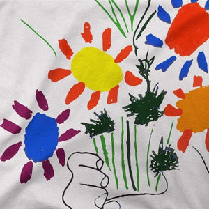 Pablo Picasso Bouquet of Peace 1958 Artwork T-Shirt - [variant_title] by Art-O-Rama