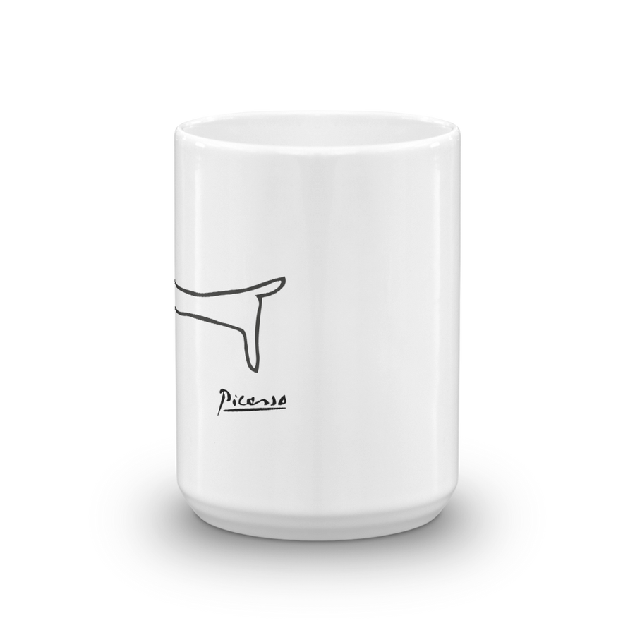 Pablo Picasso Dachshund Dog (Lump) Artwork Mug - [variant_title] by Art-O-Rama