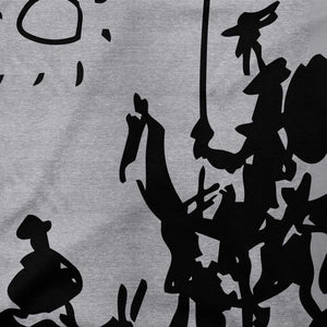 Pablo Picasso Don Quixote of La Mancha 1955 Artwork T-Shirt - [variant_title] by Art-O-Rama