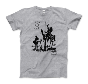Pablo Picasso Don Quixote of La Mancha 1955 Artwork T-Shirt - Art-O-Rama