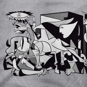 Pablo Picasso Guernica 1937 Artwork Reproduction T-Shirt - [variant_title] by Art-O-Rama