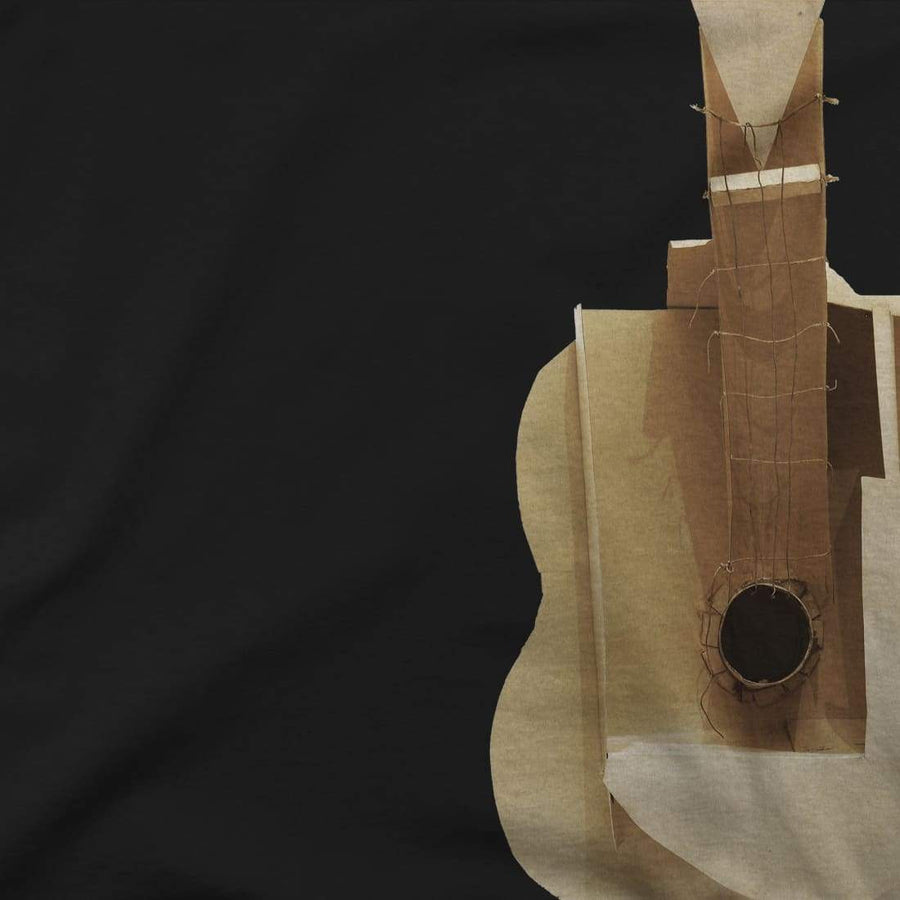 Pablo Picasso Guitar Sculpture 1912 Artwork T-Shirt - [variant_title] by Art-O-Rama
