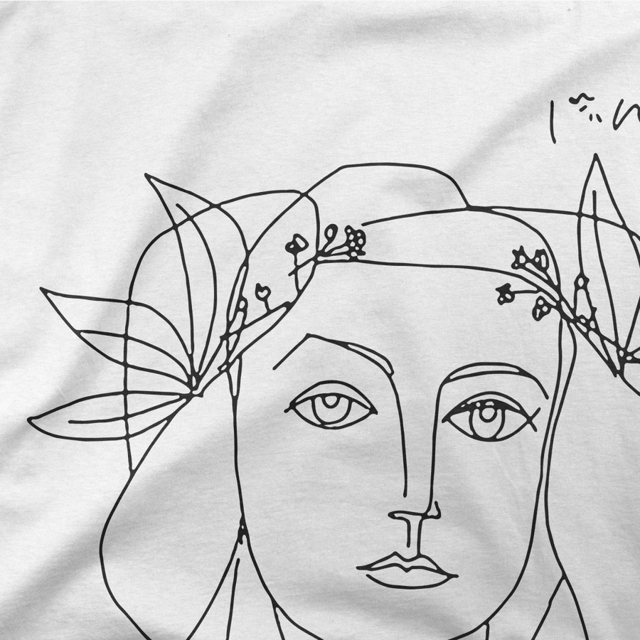 Pablo Picasso War And Peace 1952 Artwork T-Shirt - [variant_title] by Art-O-Rama