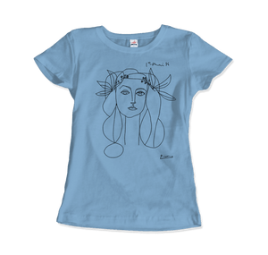 Pablo Picasso War And Peace 1952 Artwork T-Shirt - Women / Black / Small - T-Shirt